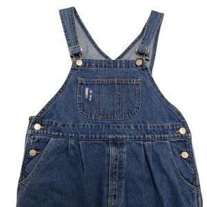 Genuine Blues Mom Jeans Bib Overalls Size …